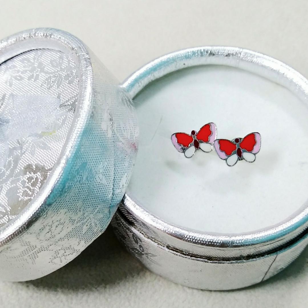 Пусеты Бабочки