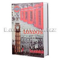 Книга сейф шкатулка London 180* 115* 55 см (маленькая)