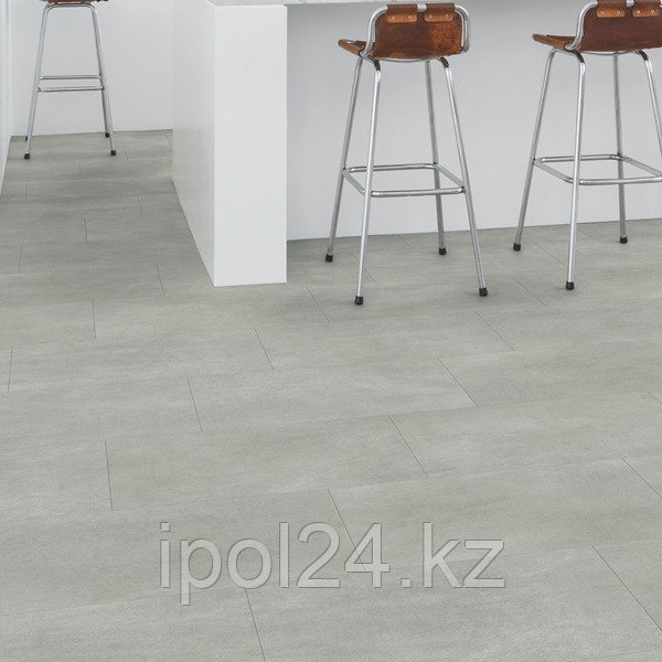 Виниловый ламинат Quick-Step Ambient Click  Бетон тёплый серый