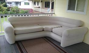 Надувной угловой диван Intex 68575, фото 3