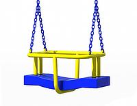 Качели антивандальные для детской площадки на цепи