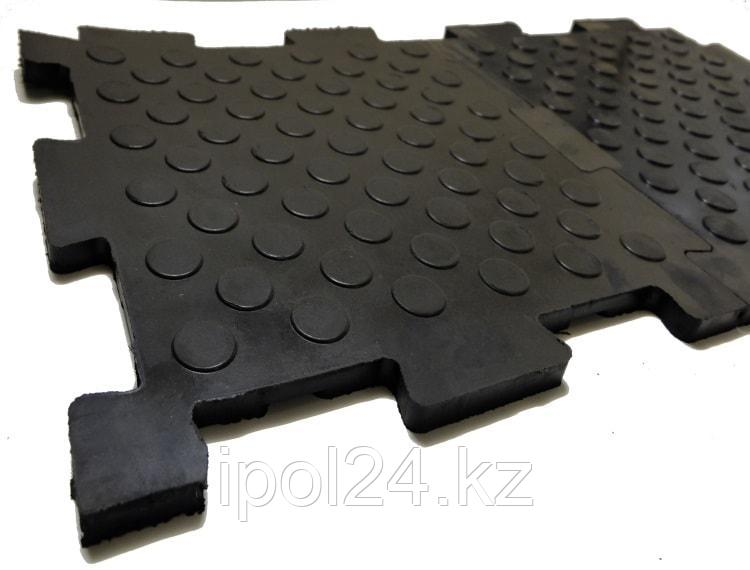 Плитка резино-каучуковая  для пола  500х500х20 мм
