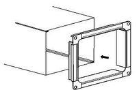 Воздуховод вентиляционный из тонколистовой оцинкованной стали непрерывных линий толщиной 1 мм.