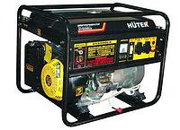 Электрогенератор бензиновый HUTER DY 6500 LX- с колесами и аккумулятором