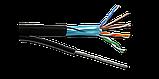 Кабель S/FTP4 cat.7 4 пары / 23 AWG BC экранированный 305м LSZH малодымный, не содержащий галогенов;фиолетовый, фото 2