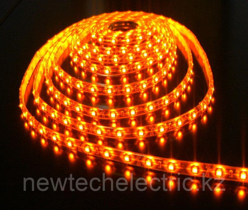 LED Лента 3528-96 (желтая) водостойкая (10м) - Купить в Алматы