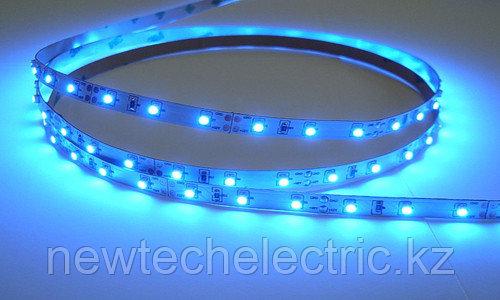 LED Лента 3528-96 (синяя) водостойкая (10м) - Купить в Алматы