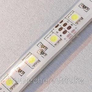 LED Лента 5050-60 (белая) в силиконе (5м) - Купить в Алматы