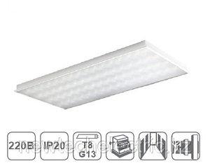 Светильники SLV 4х36 (встр)