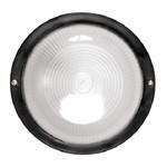 Светильник НПП 1103-100 - черный/круг п/сфера ИЭК