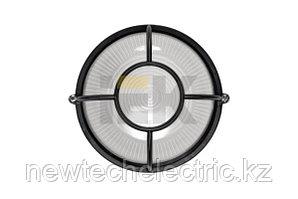 Светильник НПП 1104-100 - черн/круг солнце. ИЭК