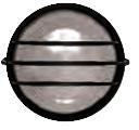 Светильник НПП 1106-100 - бел/круг сетка ИЭК