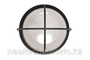 Светильник НПП 1108-100 - черн/круг решетка крупная IP54 ИЭК