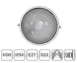 Светильник НПП 1301-60 - бел/круг IP54 ИЭК