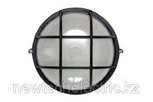 Светильник НПП 1302-60 - черн/круг с реш IP54 ИЭК