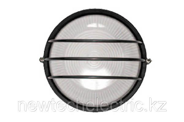 Светильник НПП 1306-60 - черн/круг сетка IP54 ИЭК