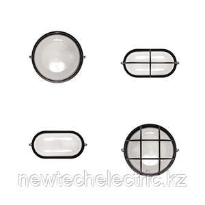 Светильник НПП 03-100-005.04 (пласт. черн. с/реш)