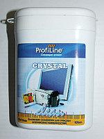 Crystal Clean tube (салф.для экранов LCD и оптики влажные 100шт)ProfilLine F300230