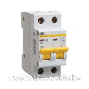 Автоматический выключатель ВА47-29М (2ф) 16А - купить Алматы, Астаны, Караганды