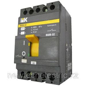 Автоматический выключатель ВА 88-32 (3ф) 80А - цена, купить в Алматы