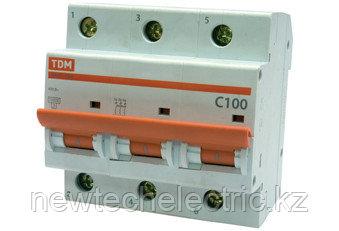 Автоматический выключатель ВА 47-100 (3ф) 50А