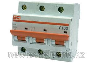 Автоматический выключатель ВА 47-100 (3ф) 100А