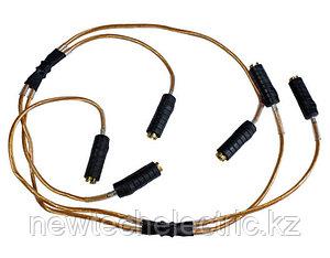 Заземление переносное ЗПЛ-10Н для ВЛ до 10кВ (ЗПЛ-10 Д)  + штанга