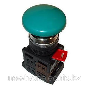 Кнопка AEA-22  (грибок, зеленый)    *** (200)