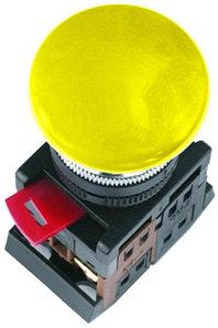 Кнопка AELA-22 (грибок желтый неон)   (200)