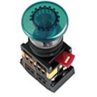Кнопка AELA-22 (грибок зеленый неон)   (200)