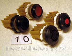 Кнопка ВК43-21-11130 (гриб черный без фикс)