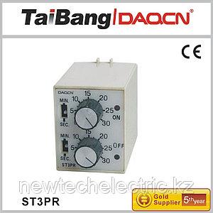 Реле времени ST3PR (РВЛ-2П2Д) АС220 V 30s/30m