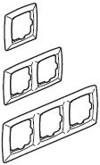 7740 43 (Рамка 3поста SUNO)