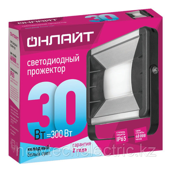 Прожектор 61 164 OFL-01-10-6.5K-GR-IP65-LED ОНЛАЙТ
