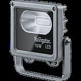 Прожектор 71 312 NFL-M-10-4K-IP65-LED 10Вт IP65 4000К Navigator, фото 2