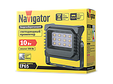 Прожектор 71 981 NFL-P-10-6.5K-IP65-LED 10Вт IP65 6500К Navigator, фото 2