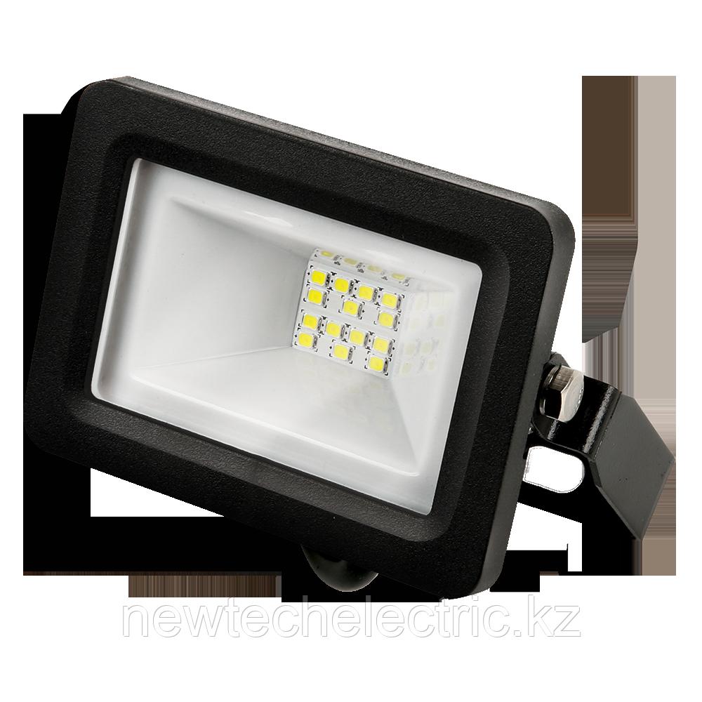 Прожектор LED 10Вт IP65 6500К черн. GAUSS