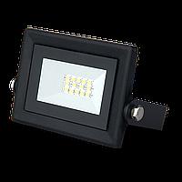 Прожектор светодиодный Led Qplus 10Вт IP65 6500К черн. Gauss