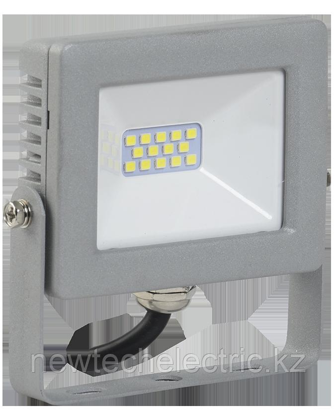 Прожектор СДО 07-20 LED 20Вт IP65 6500К серый ИЭК