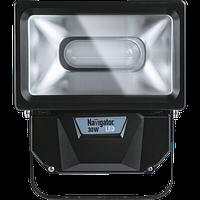 Прожектор 94 630 NFL-P-30-4K-BL-IP65-LED LED 30Вт IP65 4000К (аналог ИО 100Вт) Navigator с датчиком движения, фото 1