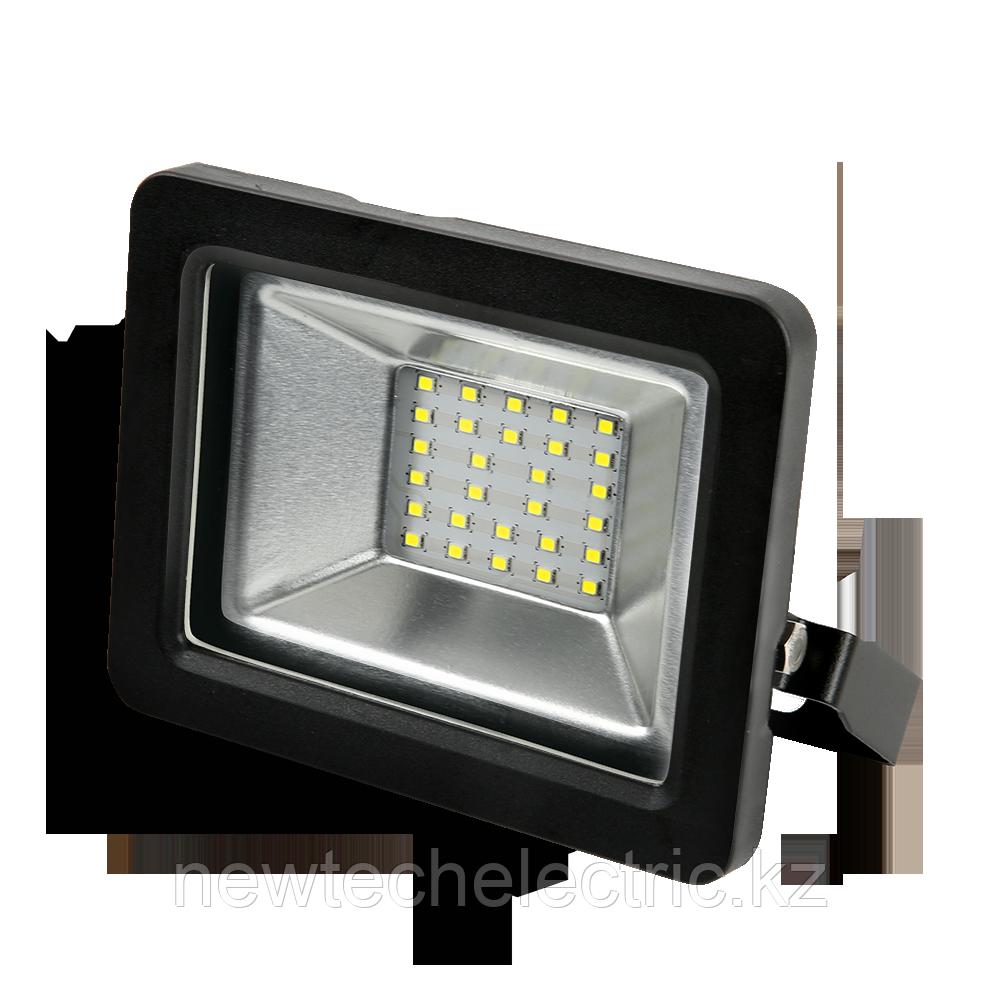 Прожектор LED 30Вт IP65 6500К черн. GAUSS