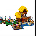 Конструктор bela Minecraft 10813 «фермерский коттедж», фото 2