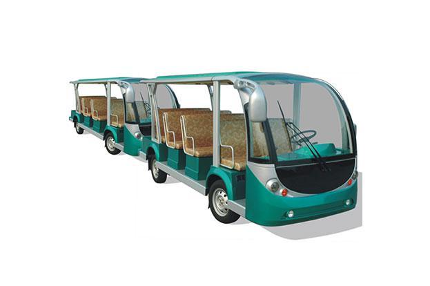 Электроавтобус открытого типа 12-ти местный EG6118KY