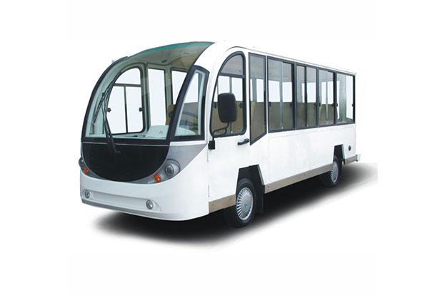 Электроавтобус закрытого типа 11-ти местный белого цвета EG6118KBF