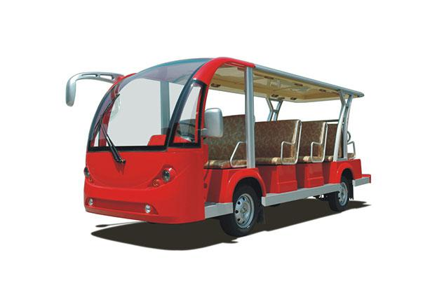 Электроавтобус открытого типа 14-ти местный EG6158K