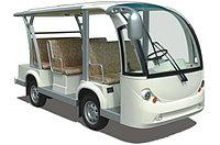 Электроавтобус открытого типа 8-ми местный белого цвета EG6088K