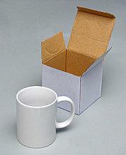 Кружка белая сублимационная в индивидуальной коробочке