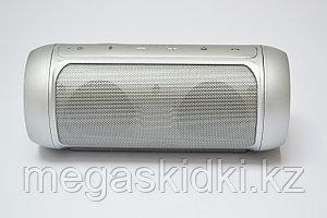 Портативная колонка Bluetooth E2 CHARGE2+ серебристая
