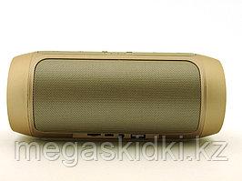 Портативная колонка Bluetooth E2 CHARGE2+ золотистая