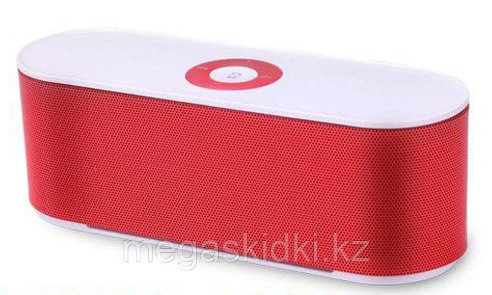 Портативная колонка Bluetooth S207 красная